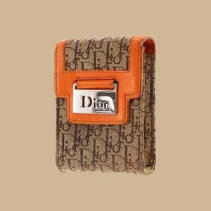 christian dior cigarette case